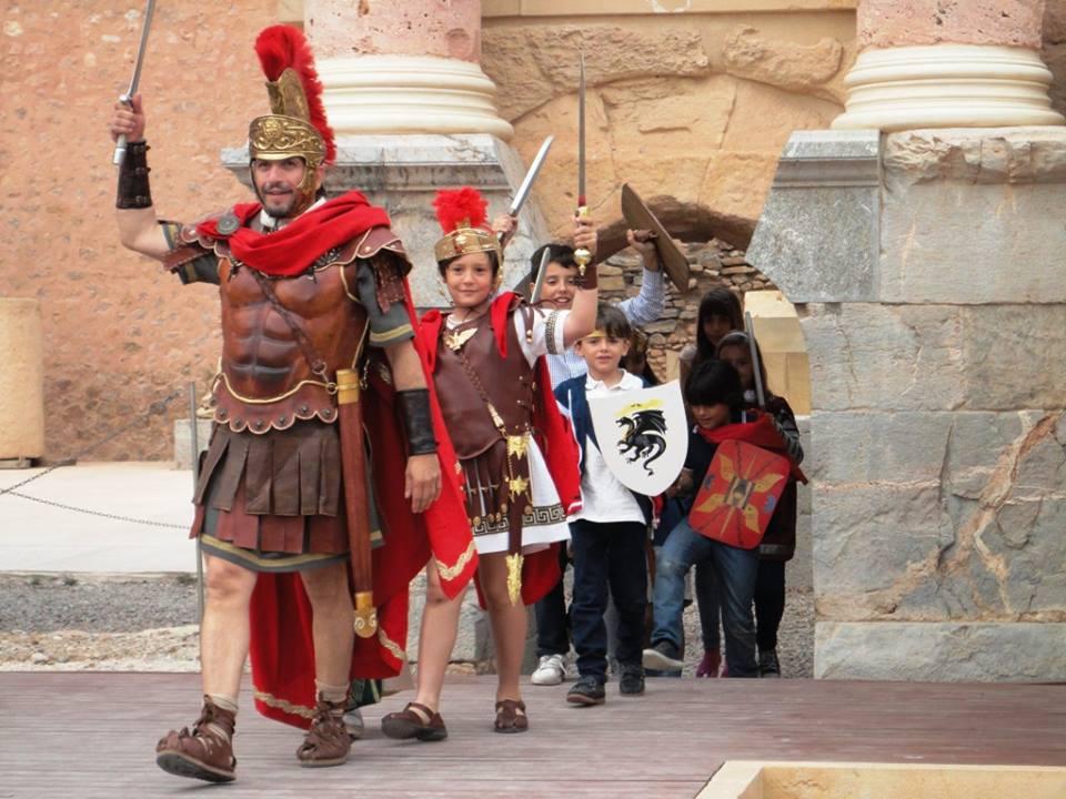 Taller infantil Teatro Romano