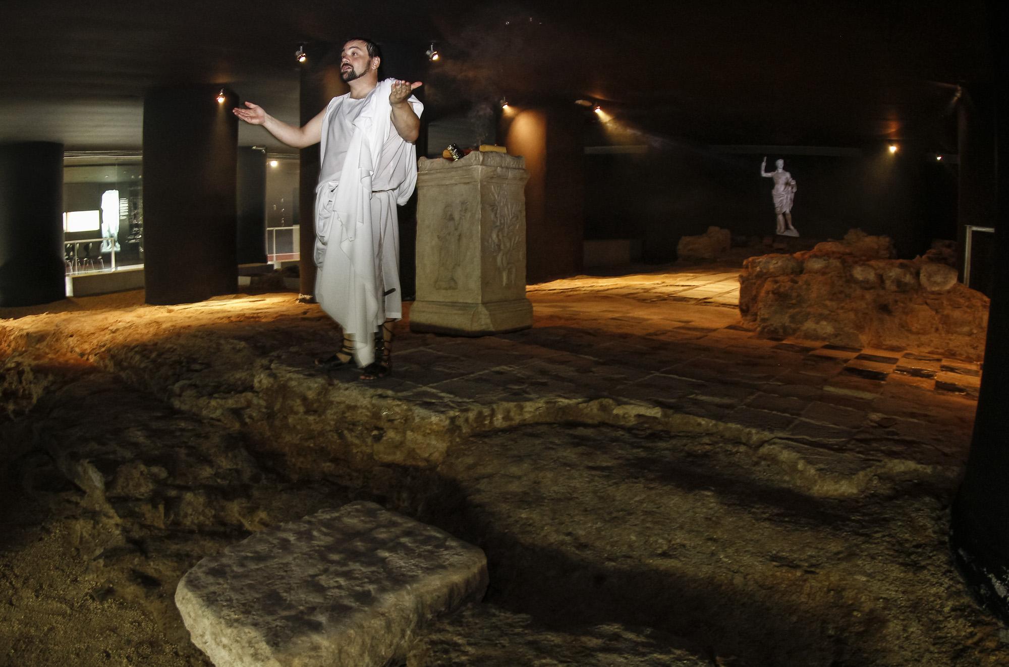 Ruta teatralizada Templos, diosas y mucho teatro