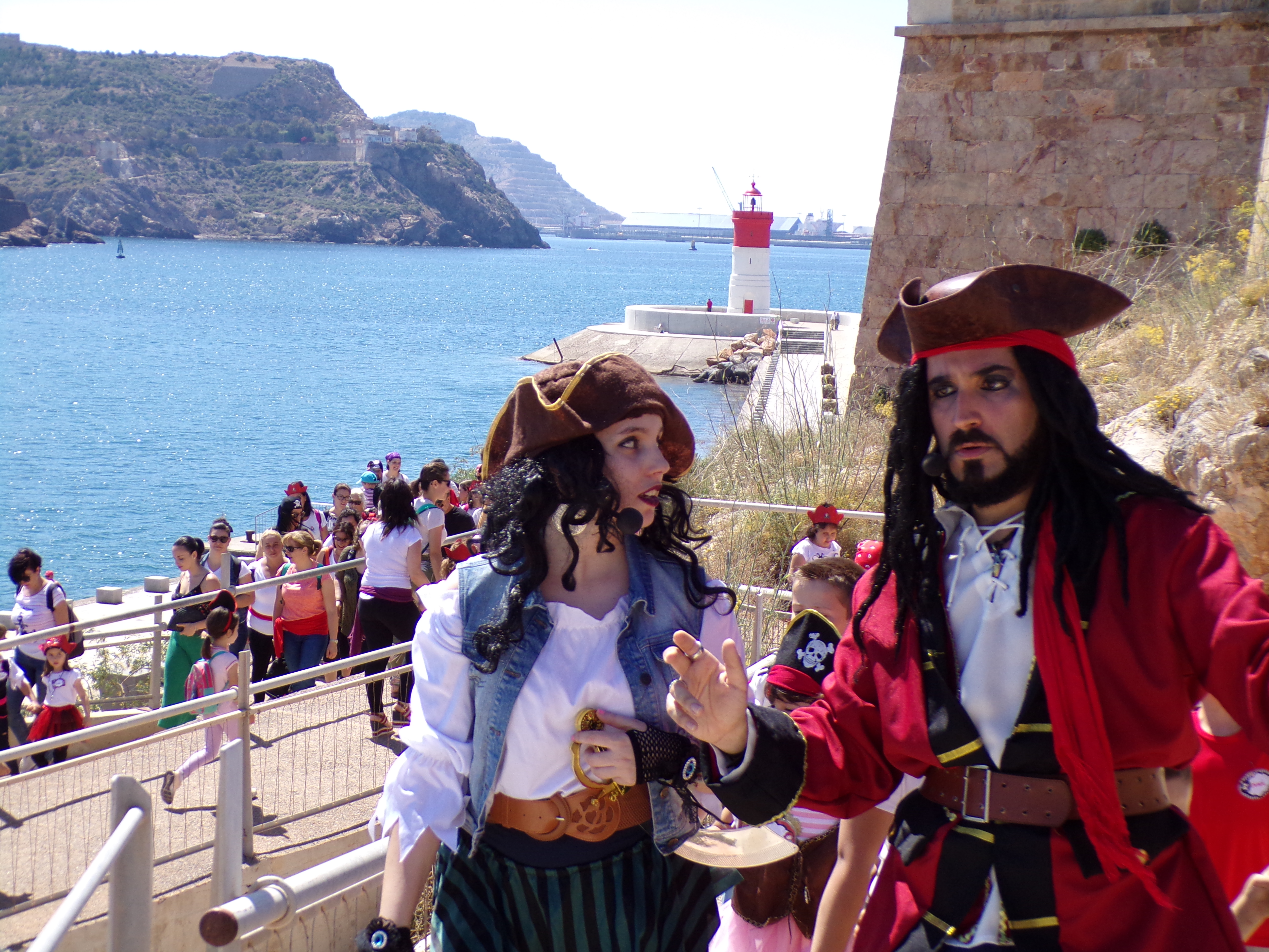 Piratas y princesas