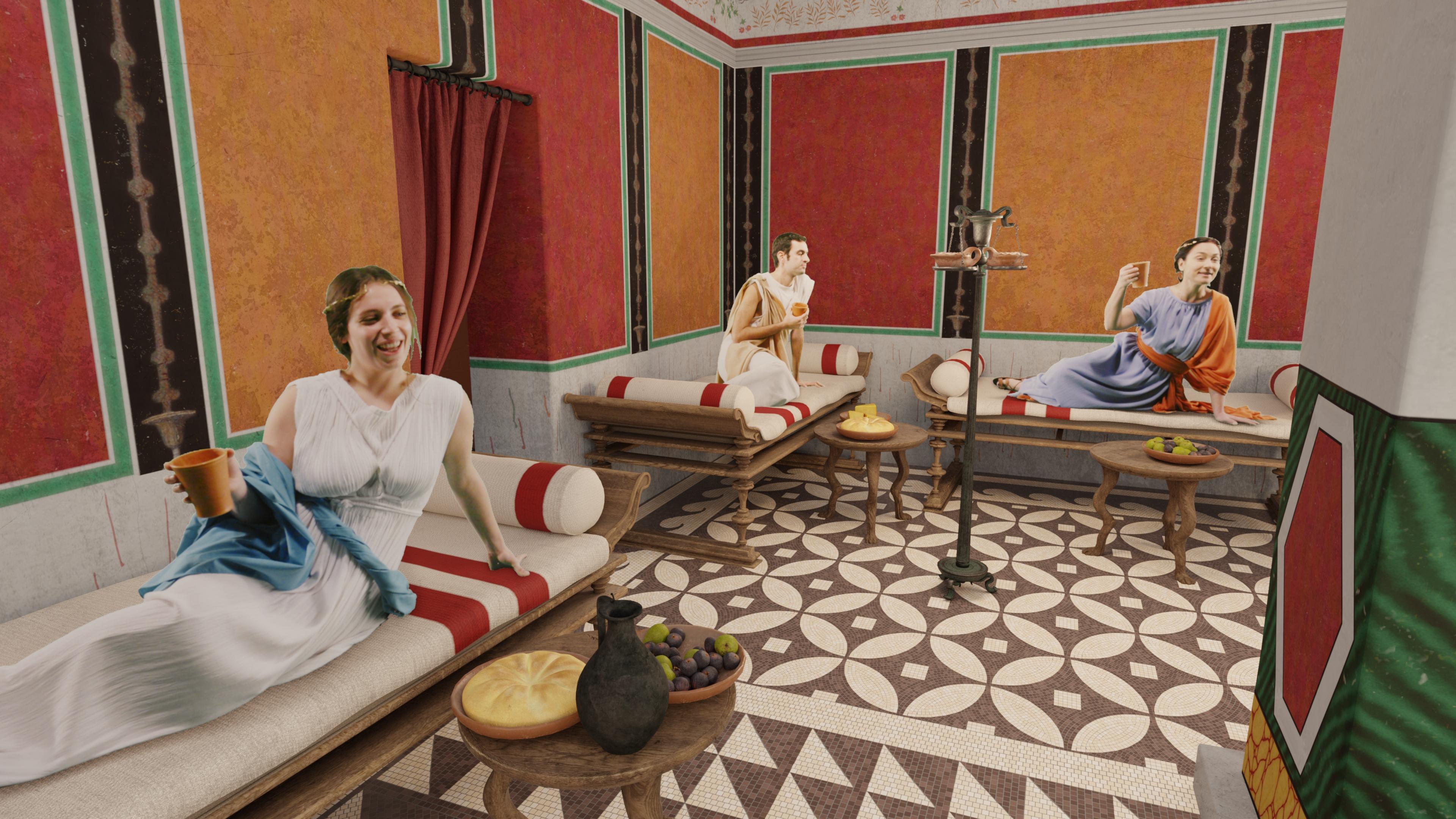 'Regreso al pasado'. Visita guiada con realidad virtual.