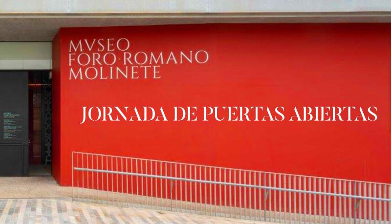 JORNADA DE PUERTAS ABIERTAS NUEVO MUSEO FORO ROMANO MOLINETE