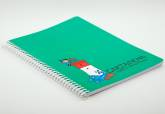 Christmas lighthouse notebook