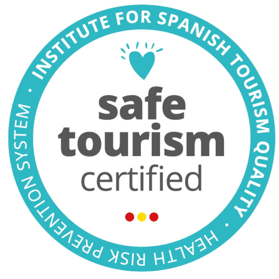 Certificado 'Safe Tourism Certified'